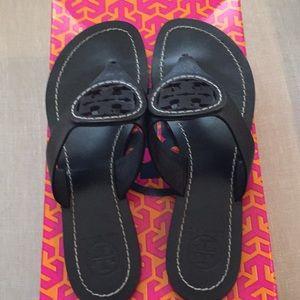 f0df380743c Tory Burch Shoes - Tory Burch Louisa Flat Thong Sandal